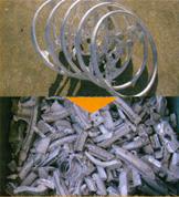 破砕機 破砕例 マグネシウム合金