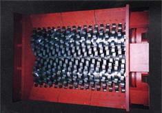 破砕設備 破砕室の内部